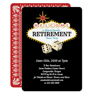 Las Vegas Marquee Retirement Party Black Card