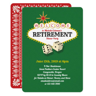 Las Vegas Marquee Retirement Party Green Card