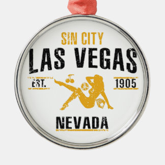 Las Vegas Metal Ornament