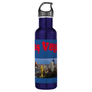 Las Vegas Morning Skyline 710 Ml Water Bottle