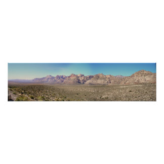Las Vegas Mountains Poster