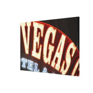 Las Vegas, Nevada 3 Gallery Wrapped Canvas
