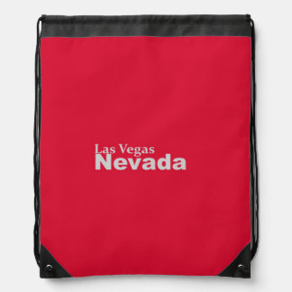 Las Vegas, Nevada Drawstring Backpack