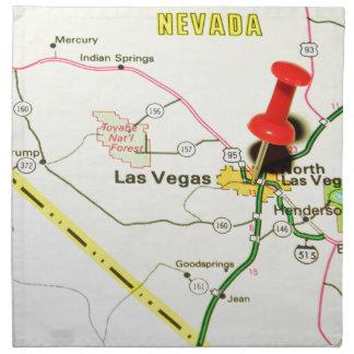 Las Vegas, Nevada Napkin