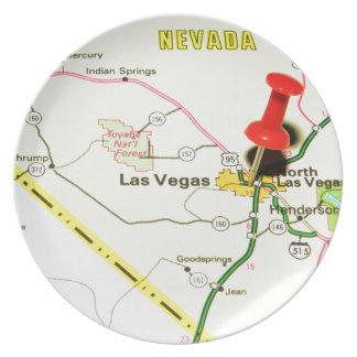 Las Vegas, Nevada Plate