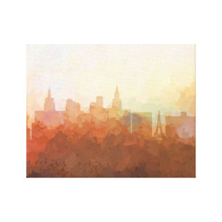 LAS VEGAS, NEVADA SKYLINE- In the Clouds Canvas