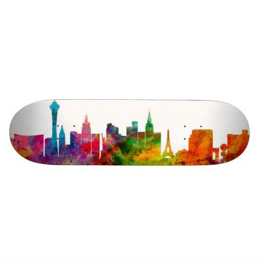 Las Vegas Nevada Skyline Skate Boards