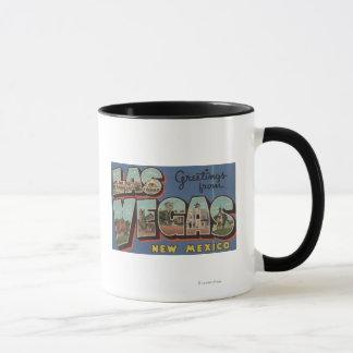 Las Vegas, New Mexico - Large Letter Scenes 2 Mug