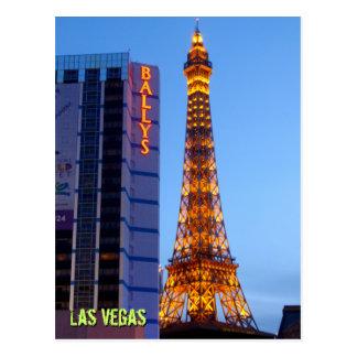 Las Vegas Nightfall Postcard