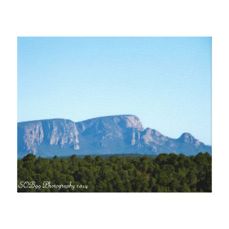 Las Vegas, NM Hermits Peak on Canvas Gallery Wrap Canvas