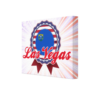 Las Vegas, NV Gallery Wrapped Canvas