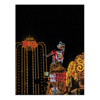 Las Vegas old Fremont Street Postcard