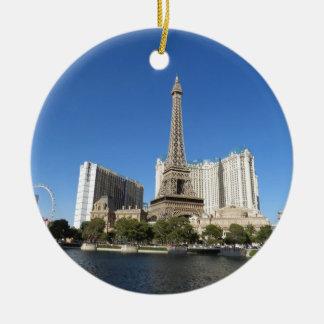 Las Vegas - Paris Paris Ceramic Ornament