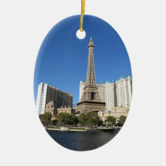 Las Vegas - Paris Paris Ceramic Oval Decoration