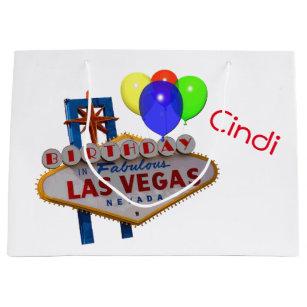 Las Vegas Personalised Birthday Gift Bag