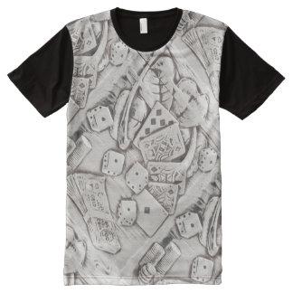Las Vegas Poker Casino Gambling Bachelor Party All-Over Print T-Shirt