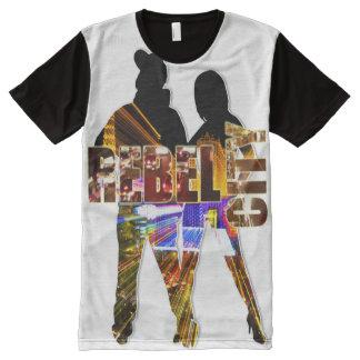 Las Vegas Rebel City 702 All-Over Print T-Shirt