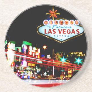 Las Vegas Sandstone Drink Coaster