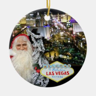 Las Vegas Santa Clause Ornament