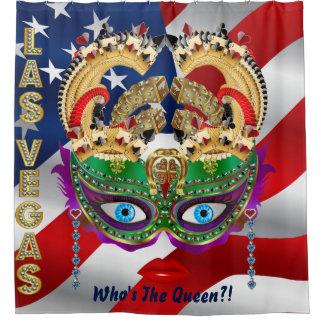 Las Vegas Shower Curtain Collection U.S. Flag