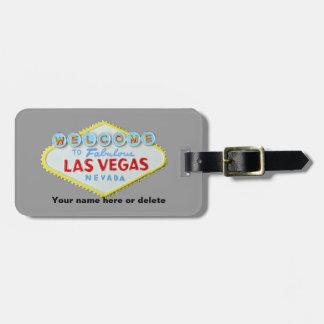 Las Vegas Sign Baggage Tag