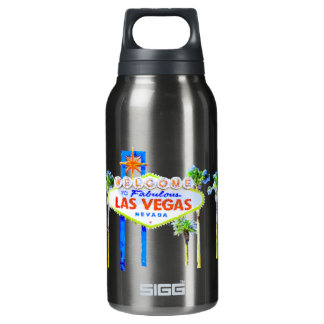 Las Vegas Sign Insulated Water Bottle