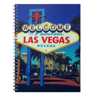 Las Vegas Sign Notebook