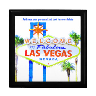 Las Vegas Sign on The Strip Gift Box