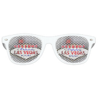Las Vegas silver gray Retro Sunglasses