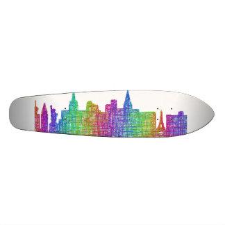 Las Vegas skyline 21.6 Cm Skateboard Deck
