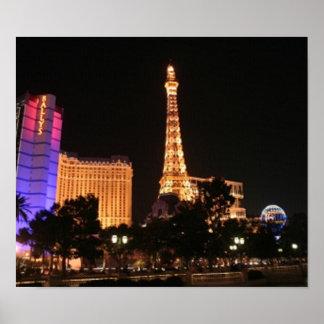 Las Vegas Skyline Poster