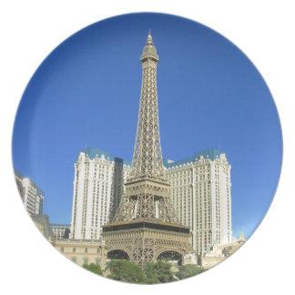 Las Vegas strip 4 Plate