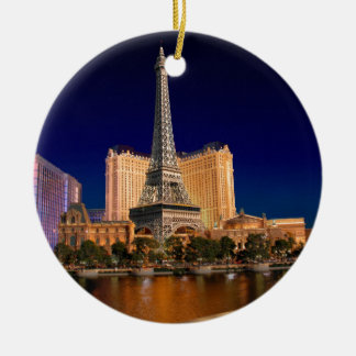 Las Vegas strip 5 Ceramic Ornament