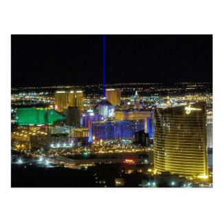Las Vegas Strip Aerial View March 2005 Postcards