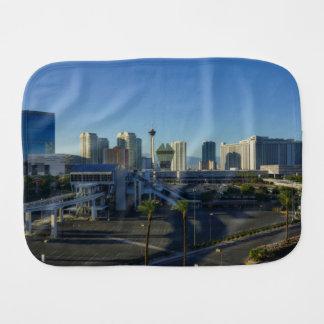 Las Vegas Strip Ahead Burp Cloth