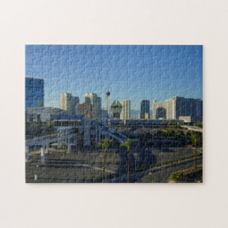 Las Vegas Strip Ahead Jigsaw Puzzle