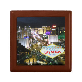 Las Vegas Strip and Sign Gift Box