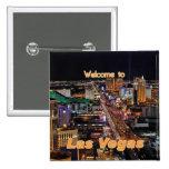 Las Vegas Strip at Night Badge