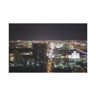Las Vegas Strip at Night Gallery Wrap Canvas