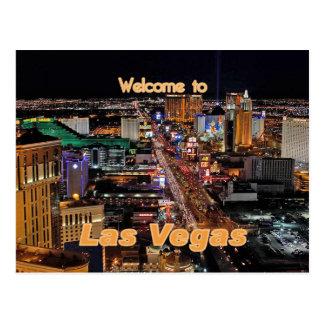 Las Vegas Strip at Night Postcard