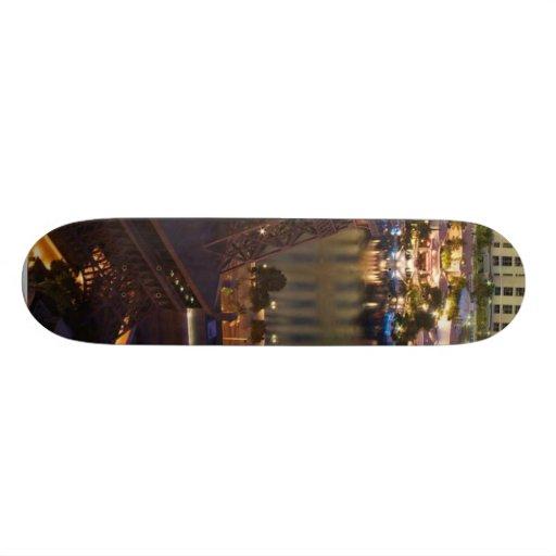 Las Vegas Strip In The Morning Skate Board Deck