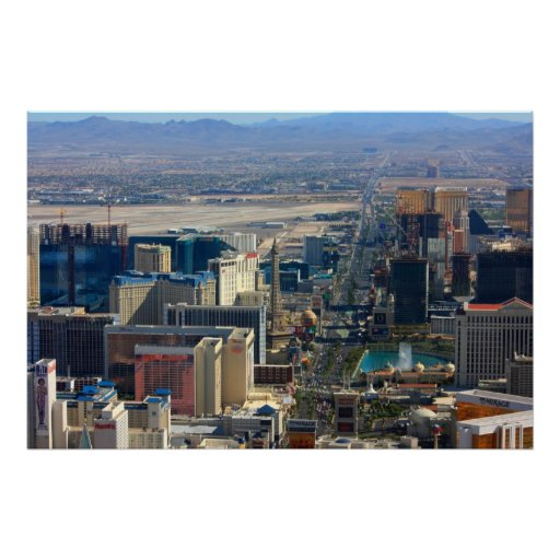 Las Vegas Strip Nevada Photo Posters