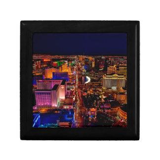 Las Vegas Strip Night Vacation Gift Box