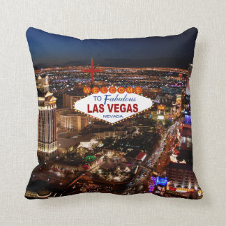 Las Vegas Strip Pillow