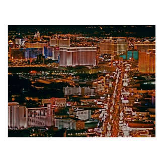 Las Vegas Strip Post Card