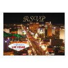 Las Vegas Strip RSVP Card