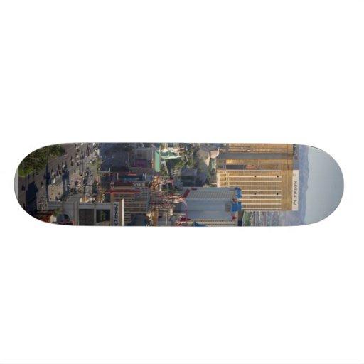 Las Vegas Strip Skate Board Deck