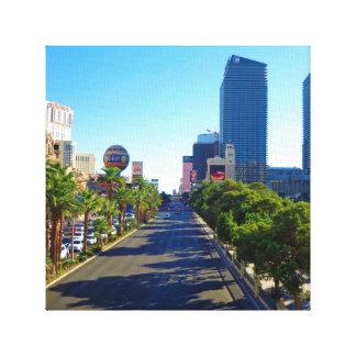 Las Vegas Strip Stretched Canvas Prints