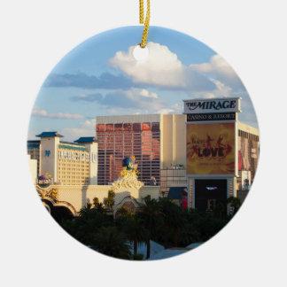 Las Vegas Strip Sunset Ornament