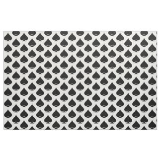 Las Vegas theme Ace of spades textile fabric